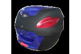 Bauleto Azul 41 Lts c/ Tampa Colorida AWA mod. PROOS